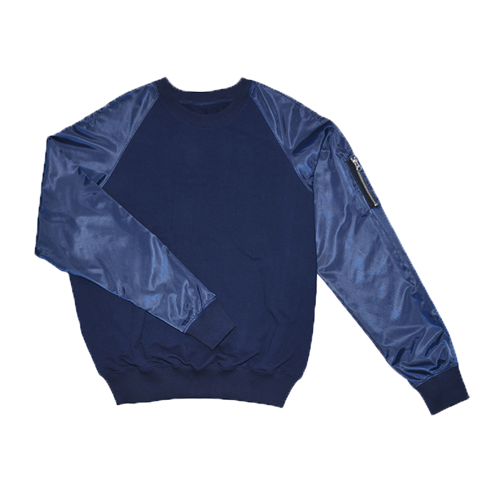 BOMBER SWEAT SHIRT for Male  (1ST CHUNPASA EDITION - al,thing X HALOMINIUM) (2014)